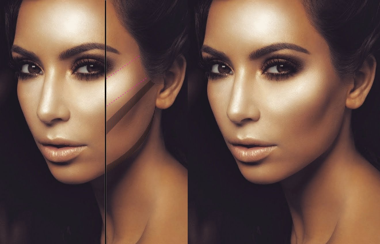 contouring how to guide life being girly