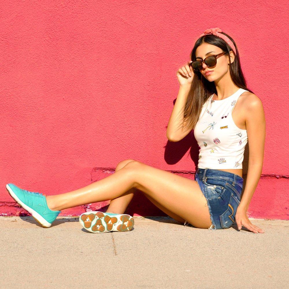 Victoria Justice Sneakers